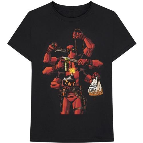 Tricou Marvel Comics Deadpool Arms