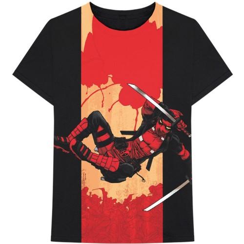 Tricou Marvel Comics Deadpool Samurai
