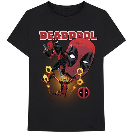 Tricou Marvel Comics Deadpool Collage 2