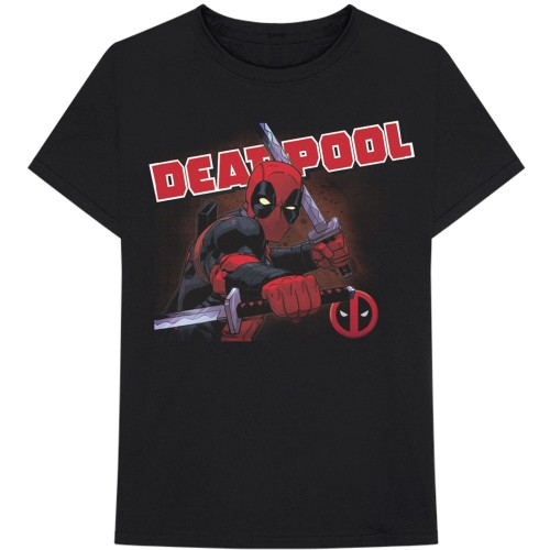 Tricou Marvel Comics Deadpool Cover