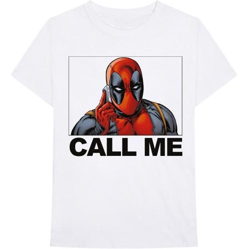 Tricou Marvel Comics Deadpool Call Me