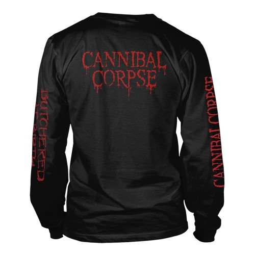 Tricou maneca lunga Cannibal Corpse Butchered At Birth (Explicit)