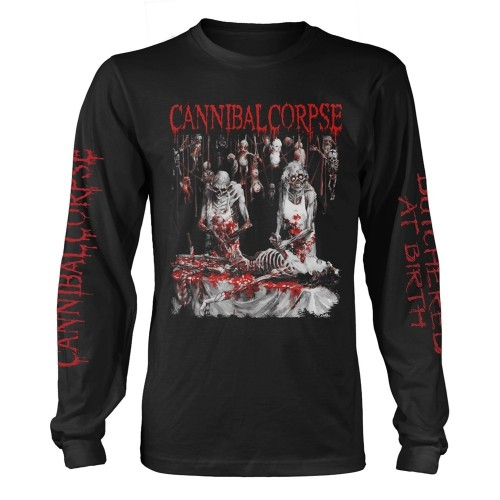 Tricou mânecă lungă Cannibal Corpse Butchered At Birth (Explicit)