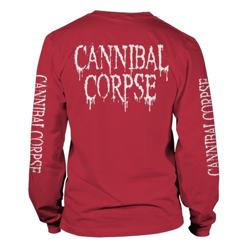Tricou maneca lunga Cannibal Corpse Pile Of Skulls 2018