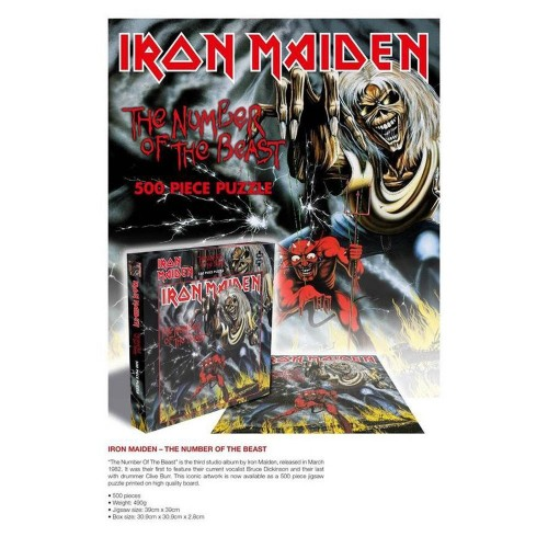 Puzzle Iron Maiden The Number Of The Beast