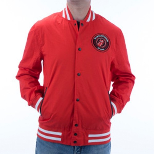 Jachetă Varsity The Rolling Stones Cotton Varsity Jacket