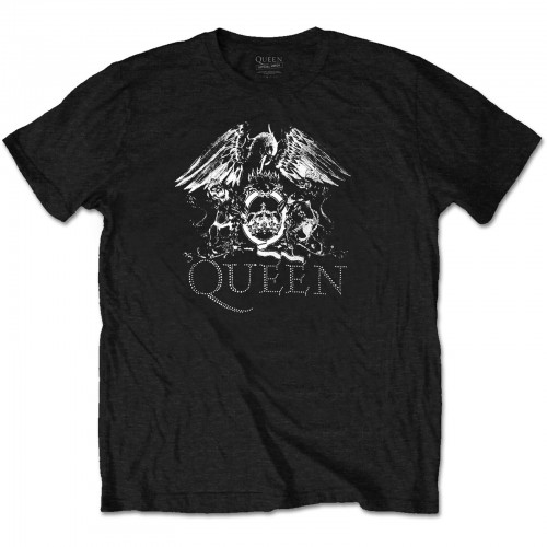 Tricou Queen Crest Logo Diamante