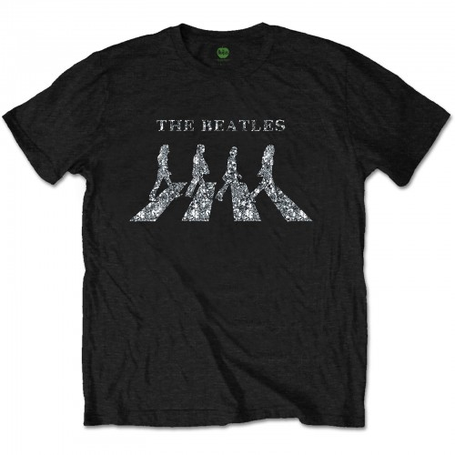 Tricou The Beatles Crossing Diamante