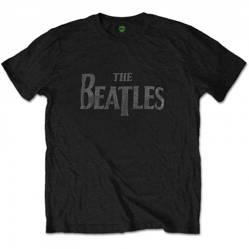 Tricou The Beatles Drop T Logo Diamante