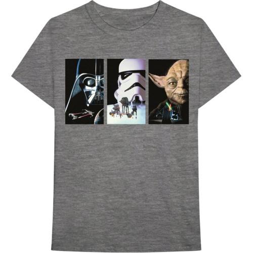 Tricou Star Wars Tri VHS Art
