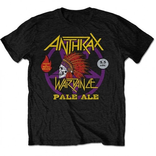 Tricou Anthrax War Dance Paul Ale World Tour 2018