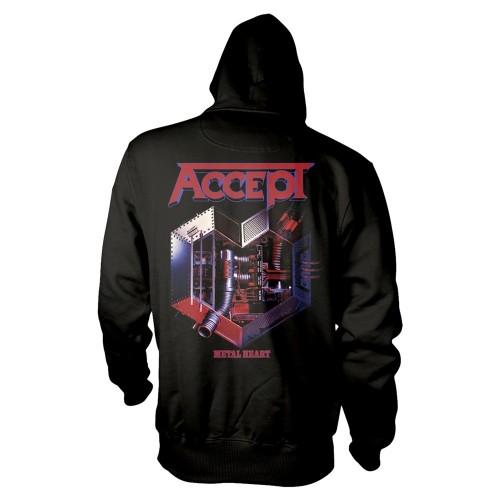 Hanorac Accept Metal Heart 1