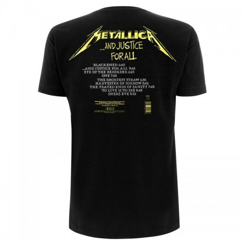 Tricou Metallica And Justice For All Tracks