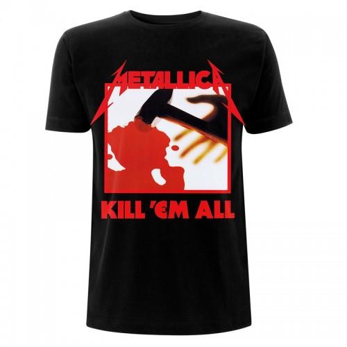 Tricou Metallica Kill 'Em All Tracks