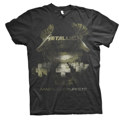 Tricou Metallica Master of Puppets Distressed