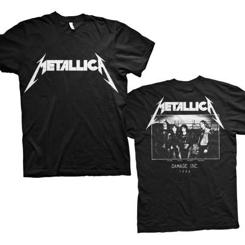 Tricou Metallica Master of Puppets Photo