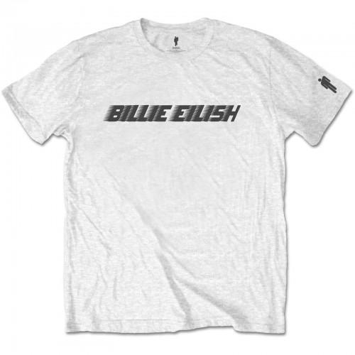 Tricou Billie Eilish Black Racer Logo