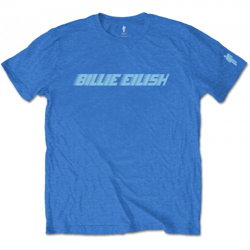 Tricou Billie Eilish Blue Racer Logo