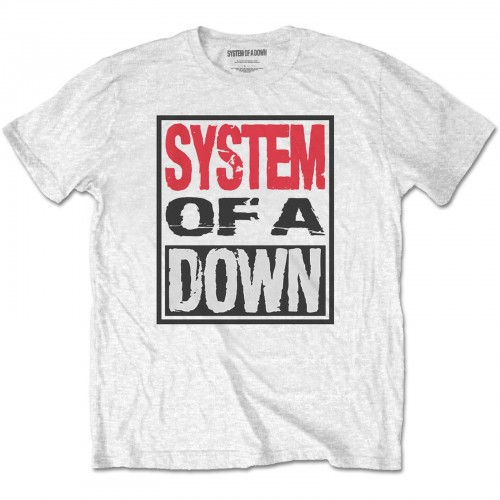 Tricou System Of A Down Triple Stack Box