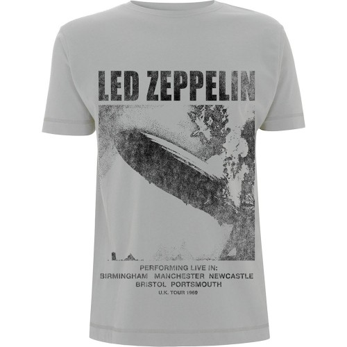 Tricou Led Zeppelin UK Tour '69 LZ1