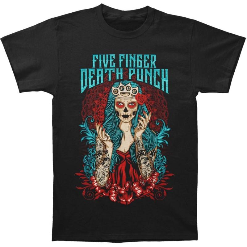 Tricou Five Finger Death Punch Lady Muerta
