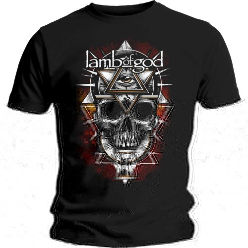 Tricou Lamb of God All Seeing Red