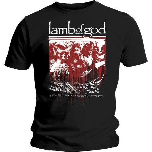 Tricou Lamb of God Enough is Enough