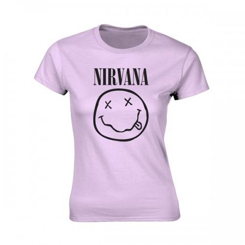 Tricou Damă Nirvana Smiley