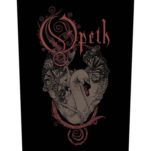 Back Patch Opeth Swan