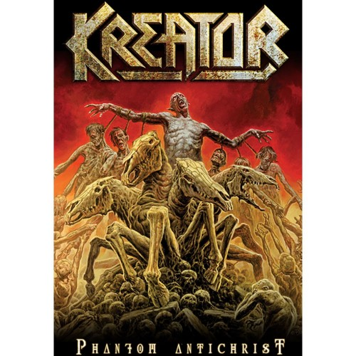 Poster textil Kreator Phantom Antichrist