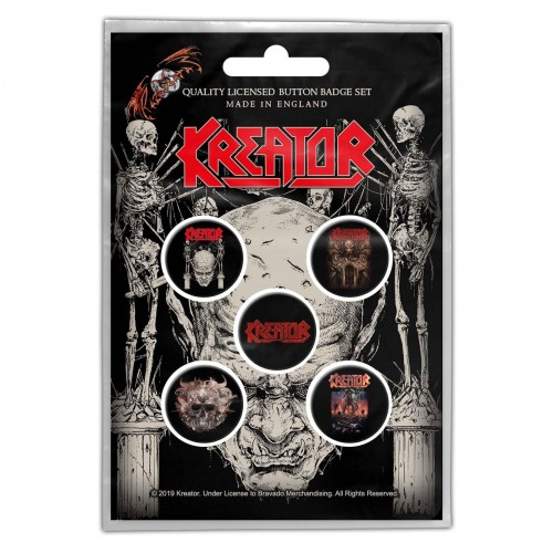 Set Insigne Kreator Skull & Skeletons