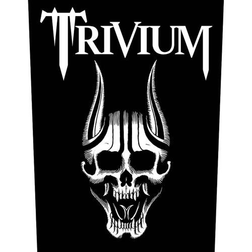 Back Patch Trivium Screaming Skull