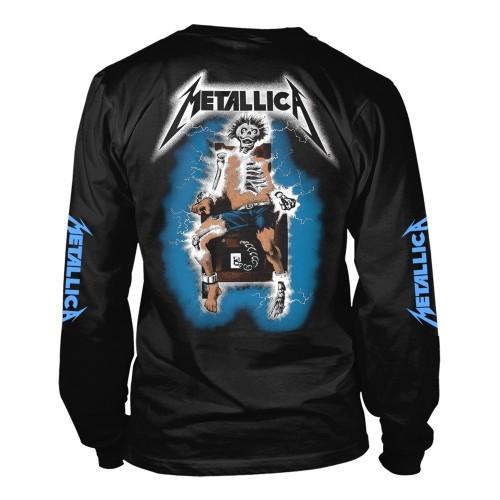 Tricou maneca lunga Metallica Ride the Lightning