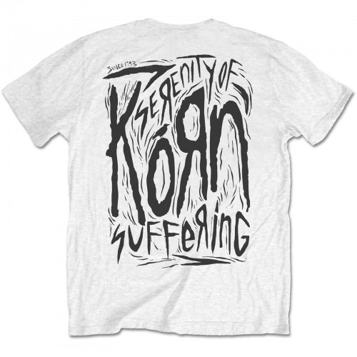 Tricou Korn Scratched Type