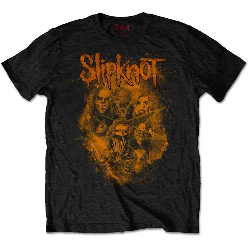 Tricou Slipknot WANYK Orange