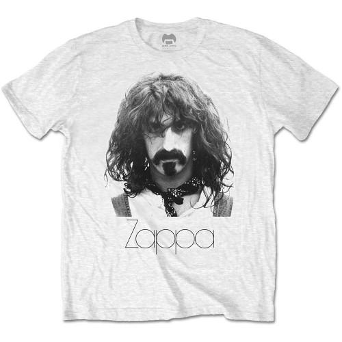 Tricou Frank Zappa Thin Logo Portrait