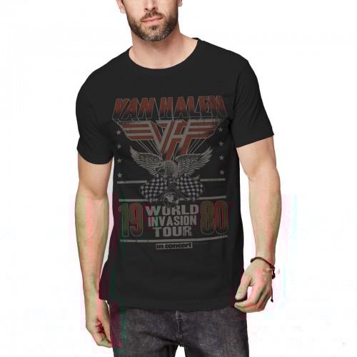 Tricou Van Halen Invasion Tour '80