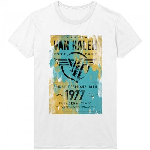 Tricou Van Halen Pasadena '77