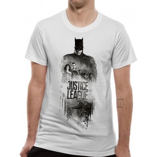 Tricou DC Comics Justice Movie Batman Silhouette