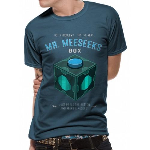Tricou Rick And Morty Meeseeks Box