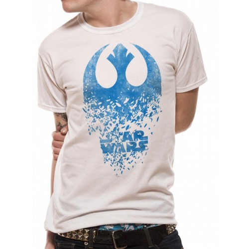 Tricou Star Wars 8 The Last Jedi Jedi Badge Explosion