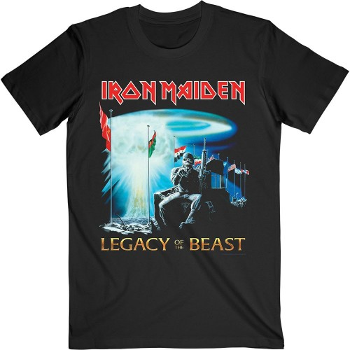 Tricou Iron Maiden Two Minutes to Midnight