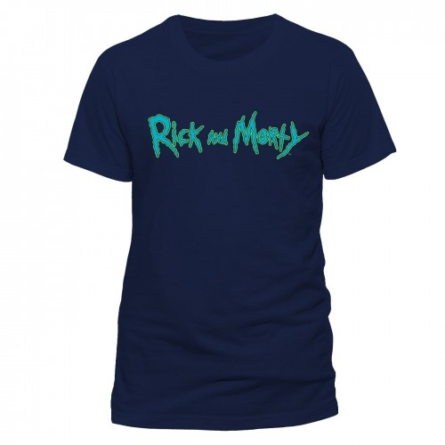 Tricou Rick And Morty Logo