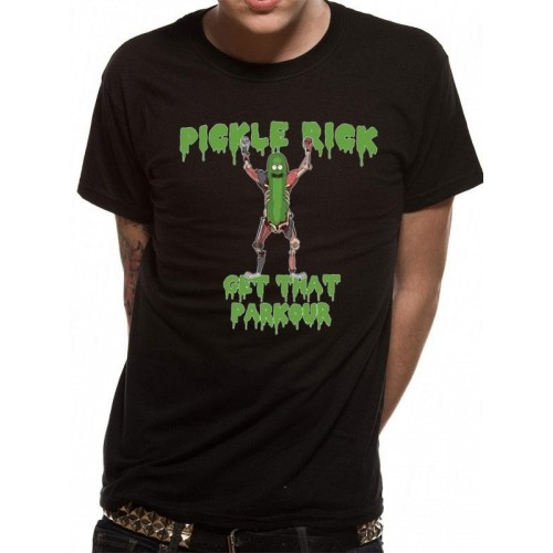 Tricou Rick And Morty Parkour