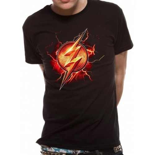 Tricou Justice League Movie Flash Symbol