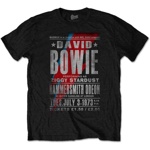 Tricou David Bowie Hammersmith Odeon