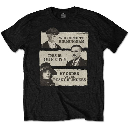 Tricou Peaky Blinders This Is Our City