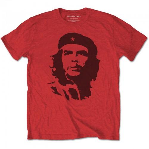 Tricou Che Guevara Black on Red
