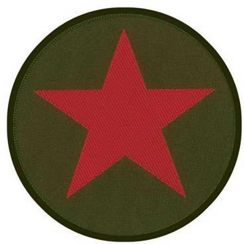 Patch Che Guevara Red Star/Khaki