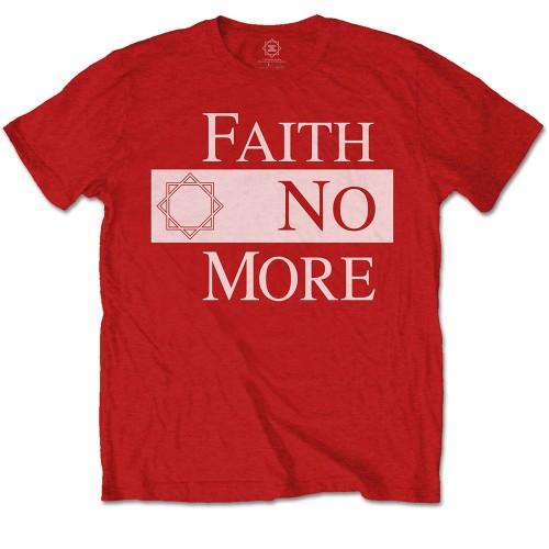 Tricou Faith No More Classic New Logo Star